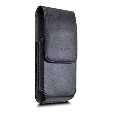 the latest c5afc eb7f6 LG X Power 2, LG Fiesta LTE, LG X Power Case,Vertical Leather Belt Clip  Pouch Holster Case (Fits with Hybrid /Slim Case/Battery Case /Waterproof  Case ...