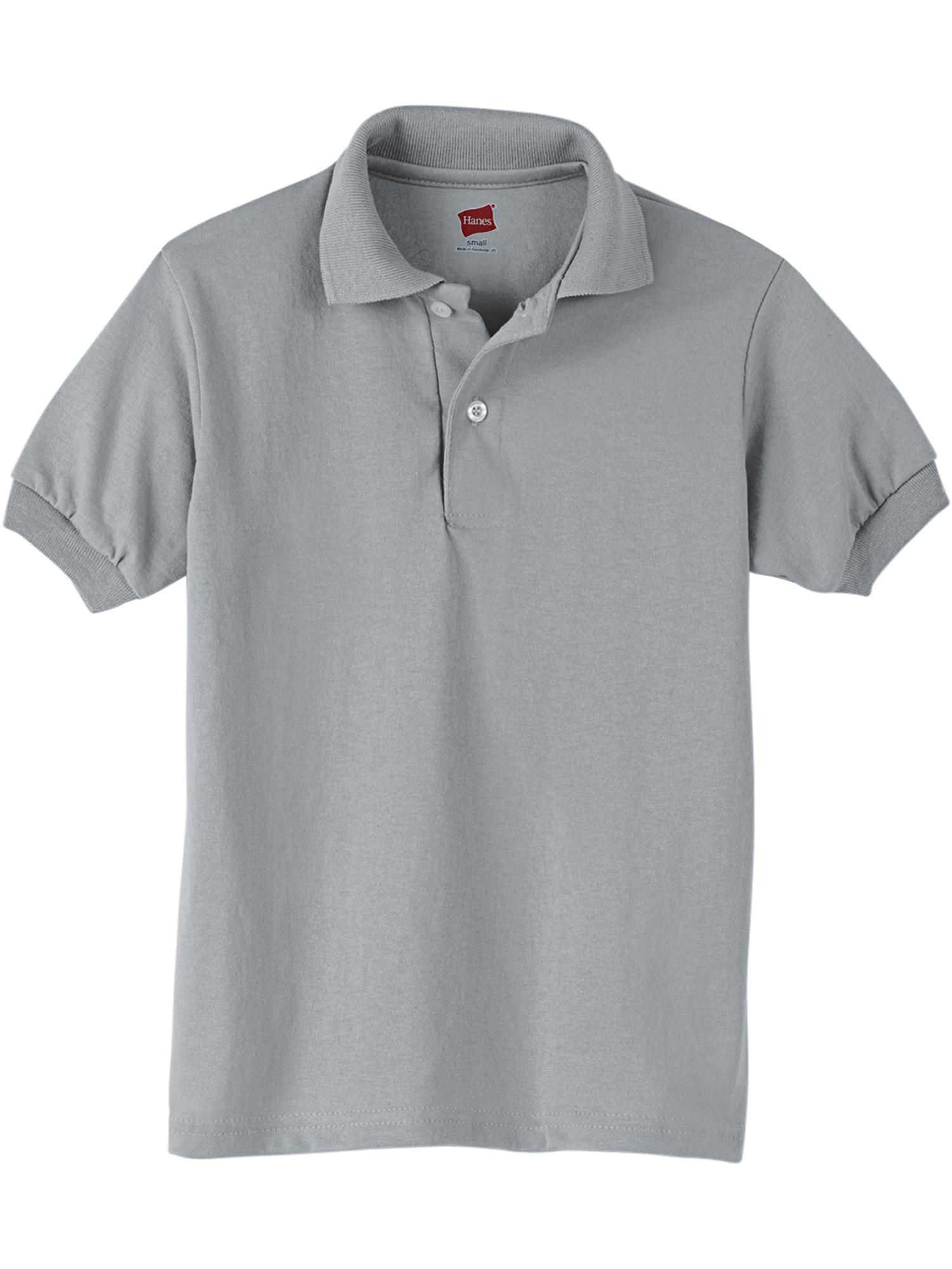 Kids Lightweight Comfortblend EcoSmart Jersey Polo