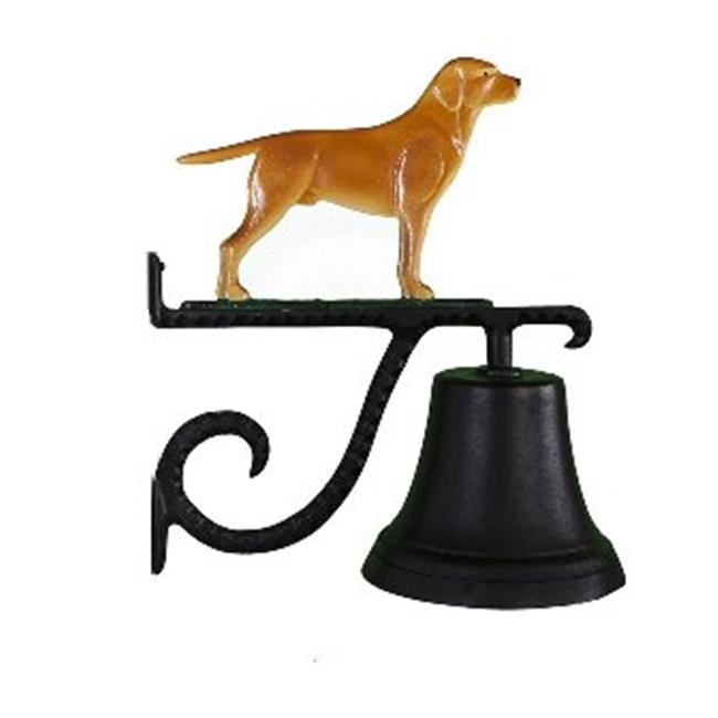 Montague Metal Products CB-1-60-NC Cast Bell With Natural Color Lab Ornament - image 1 of 1
