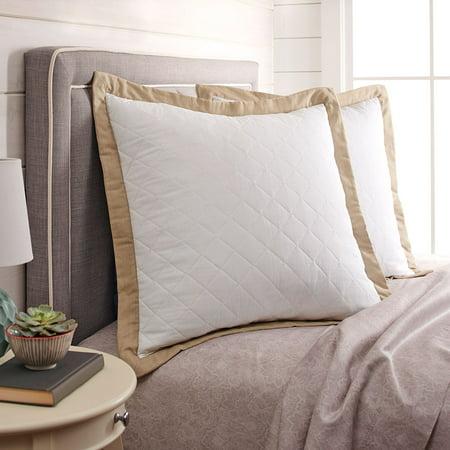 Better Homes & Gardens Diamond Quilted Euro Pillow Sham, 1 Each