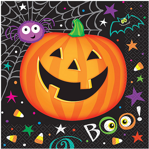 Pumpkin Pals Halloween Luncheon Napkins, 16ct