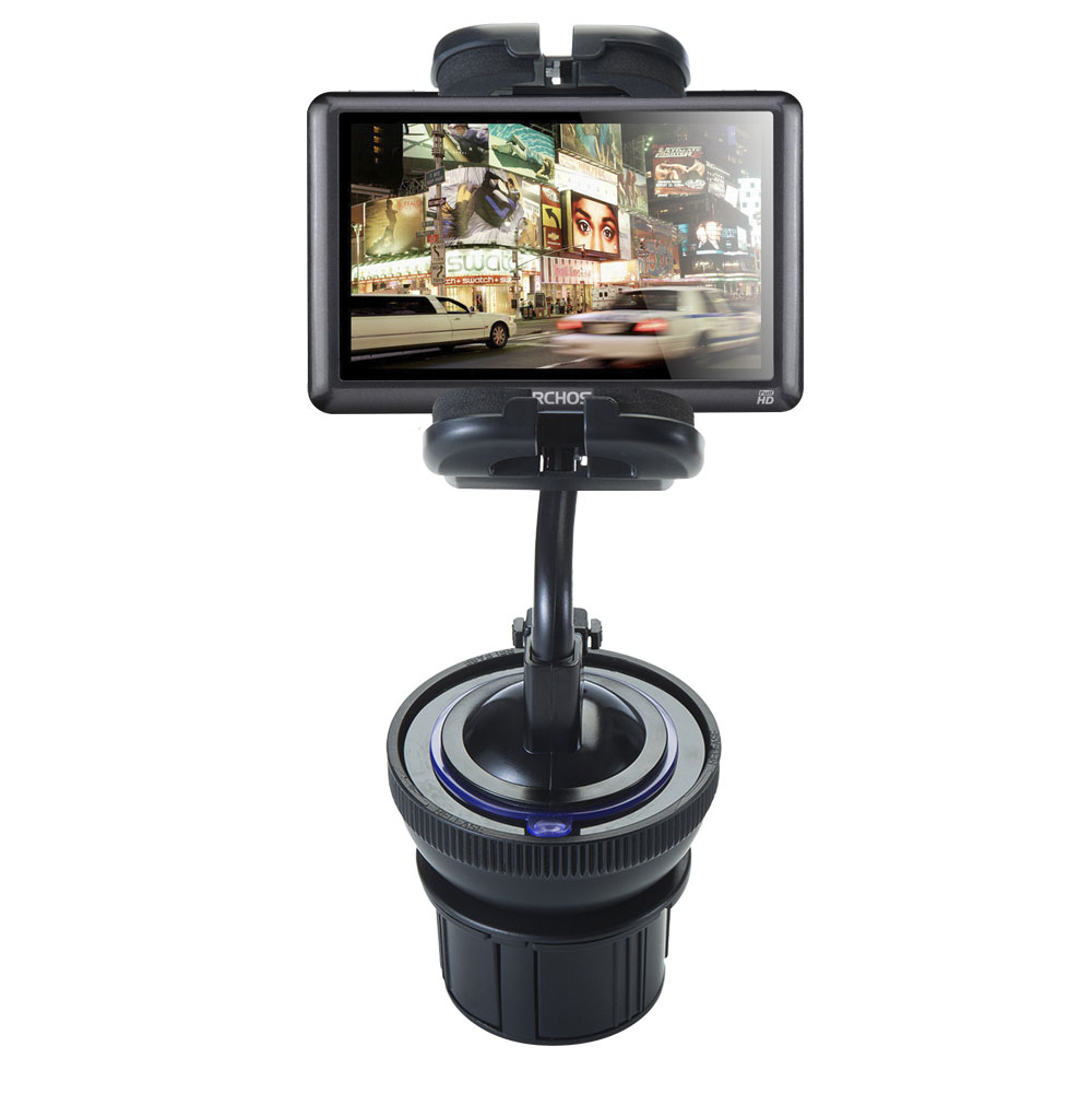 Unique Auto Cupholder and Suction Windshield Dual Purpose Mounting System for Archos 50b Vision Flexible Holder System... by Gomadic