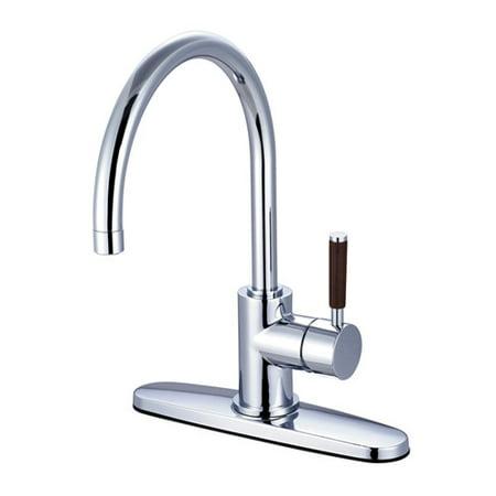 Kingston Brass Wilshire Single Handle Kitchen Faucet