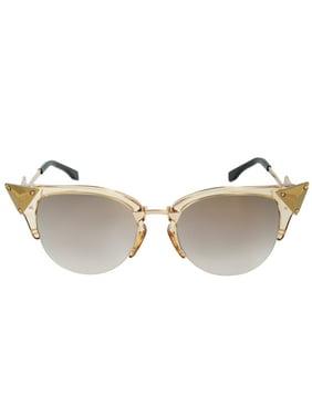4d85816f6e6 Product Image Fendi Iridia Cat Eye Sunglasses FF0041S 27L FQ 52
