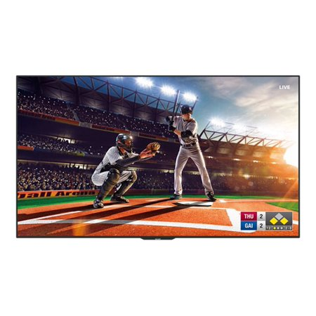 "Sharp PN-UH861 - 86"" Class (85.6"" viewable) LED display - with TV tuner - digital signage - 4K UHD (2160p) 3840 x 2160 - edge-lit"
