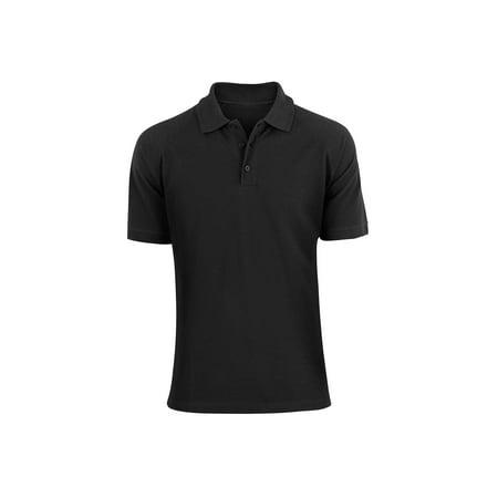 Alta Fashion Designer Mens Classic Fit Cotton Polo Shirt - Multiple Colors