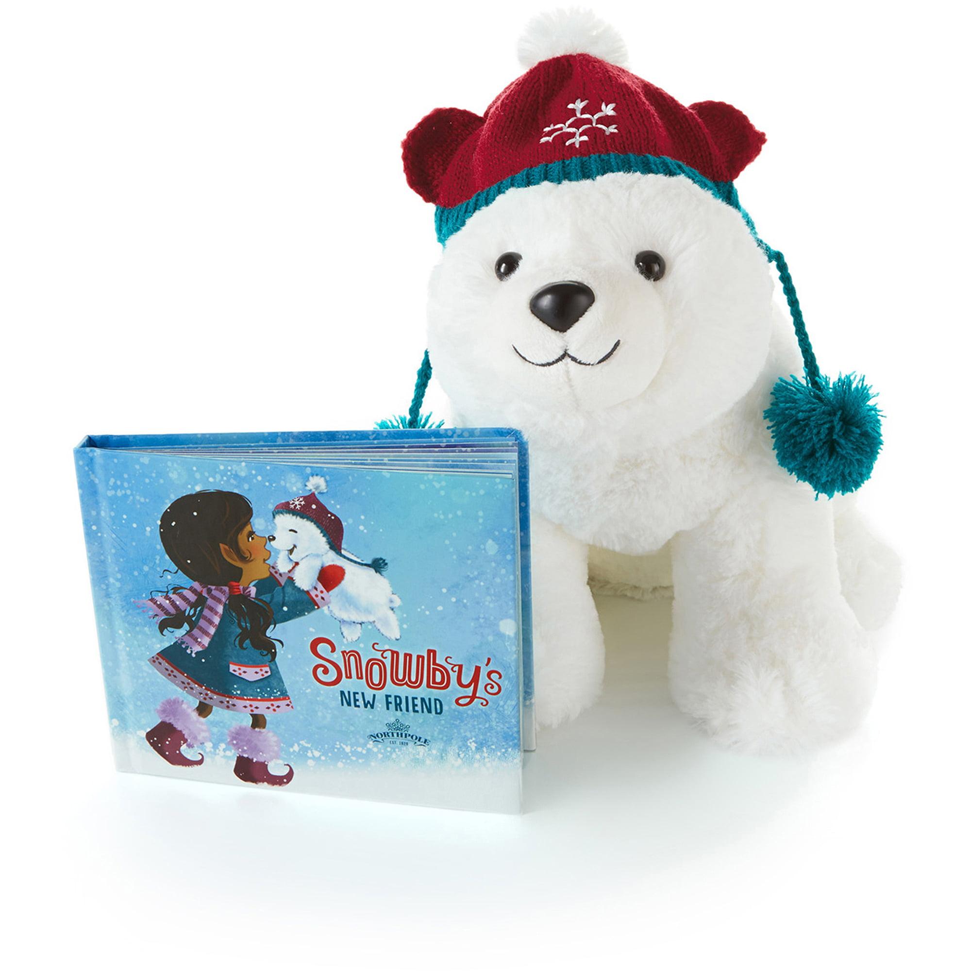 Hallmark Interactive Snowby the Polar Bear and Book, Snowby's New Friend