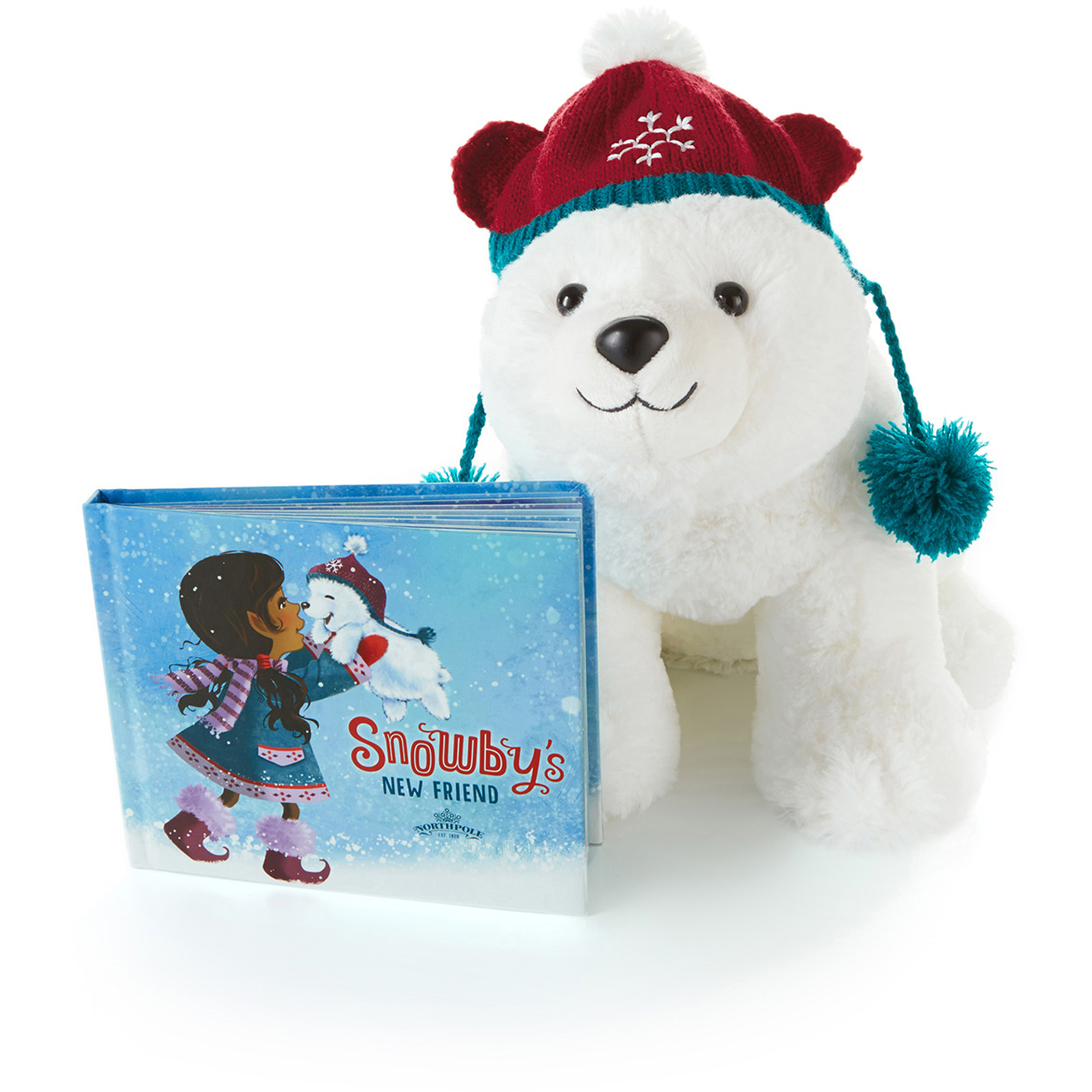 Hallmark Interactive Snowby the Polar Bear and Book, Snowby's New Friend