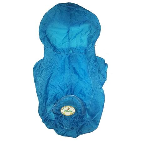 The Ultimate Waterproof Thunder-Paw Adjustable Zippered Folding Travel Dog (Santa Paws Dog Coat)