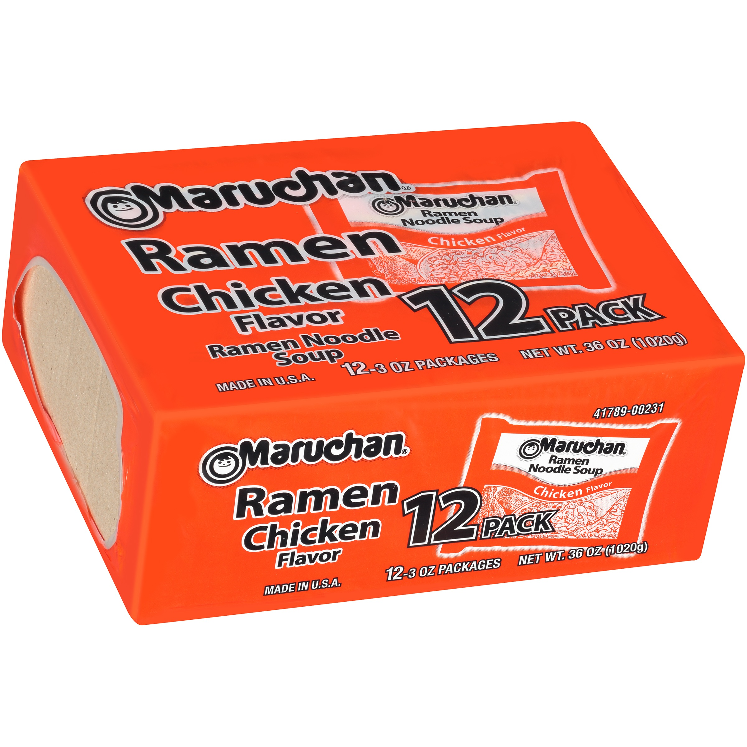 Maruchan® Chicken Flavor Ramen Noodle Soup 12-3 oz. Box