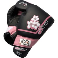Rival Boxing Women's Pro Sparring Gloves - 16 oz - Black/Pink