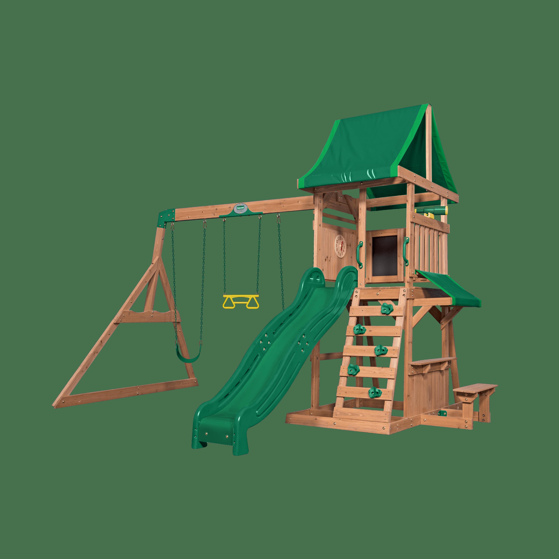 Backyard Discovery Dakota Ridge Swing Set Brickseek