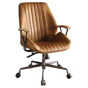 Acme Furniture Hamilton Office Chair, Coffee Leather