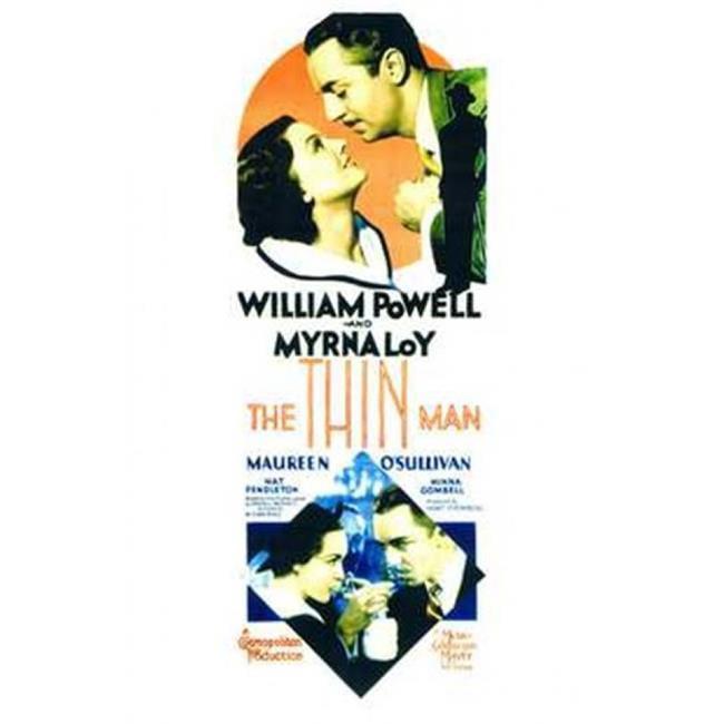 Posterazzi MOV143395 The Thin Man Movie Poster - 11 x 17 in. - image 1 de 1