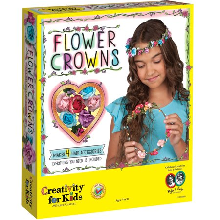 Flower Crowns - Craft Kit by Creativity for Kids