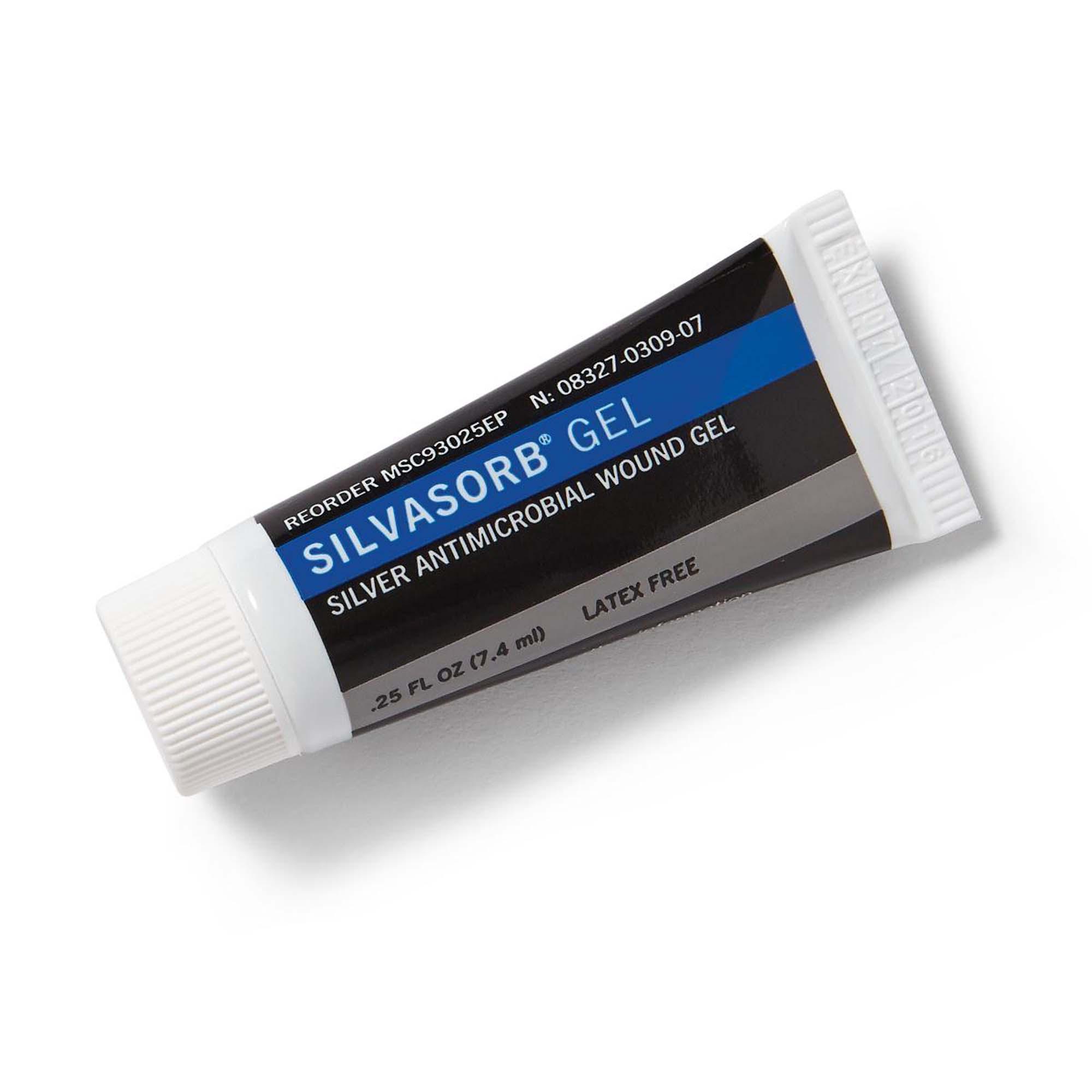 Medline SilvaSorb Gel, 0.25 oz, Silver Antimicrobial Wound Gel, MSC93025EPH, EACH