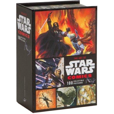 ART OF STAR WARS COMICS (BOX) (PCRD) - Star Wars Invitation