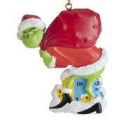The Grinch With Sack Christmas Ornament GRH2182 New