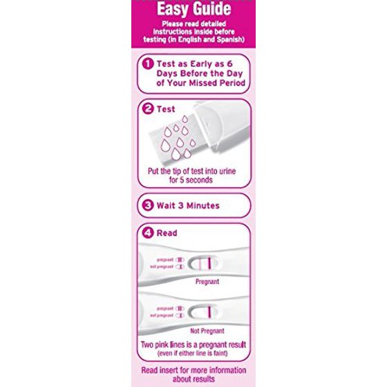 First Response Early Result Pregnancy Test 2 Pack Packaging Test