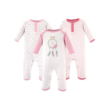 - Girl Coveralls, 3-Pack