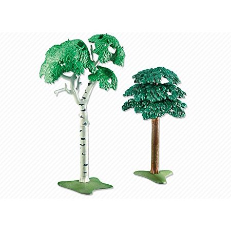 Add On Series   2 Broadleaf Trees  This Item Is Part Of The Playmobil Direct Service Range  Add On Series   By Playmobil