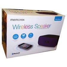 Memorex Universal Purple Wireless Speaker for Tablet/Smartphone - MW212-PU Memorex Universal Purple Wireless Speaker for Tablet/Smartphone - MW212-PU