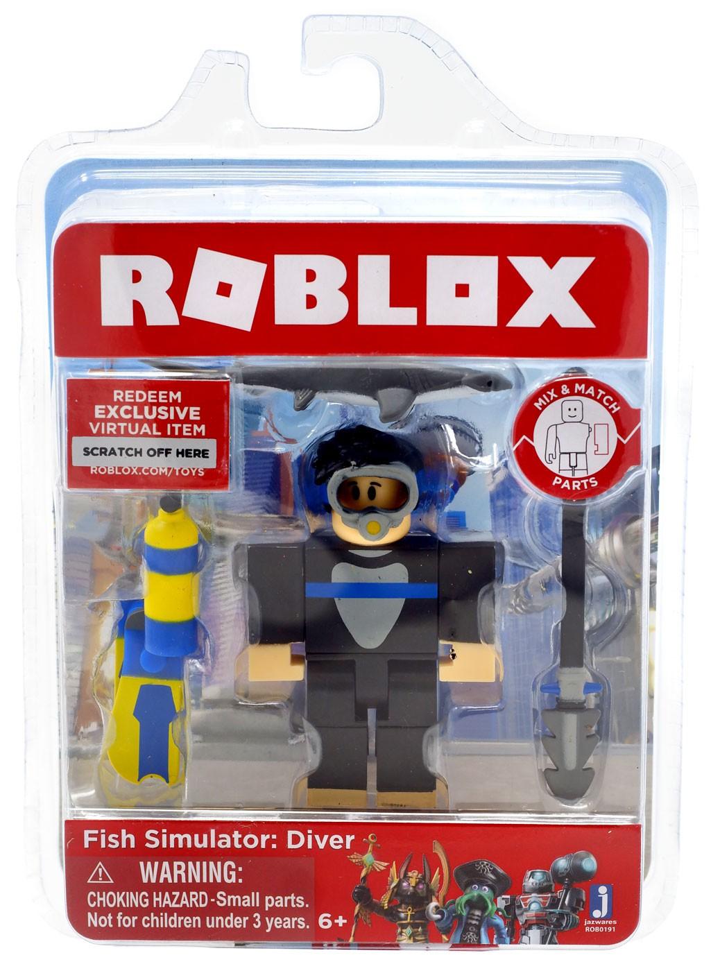 Roblox Fish Simulator: Diver Action Figure – Walmart