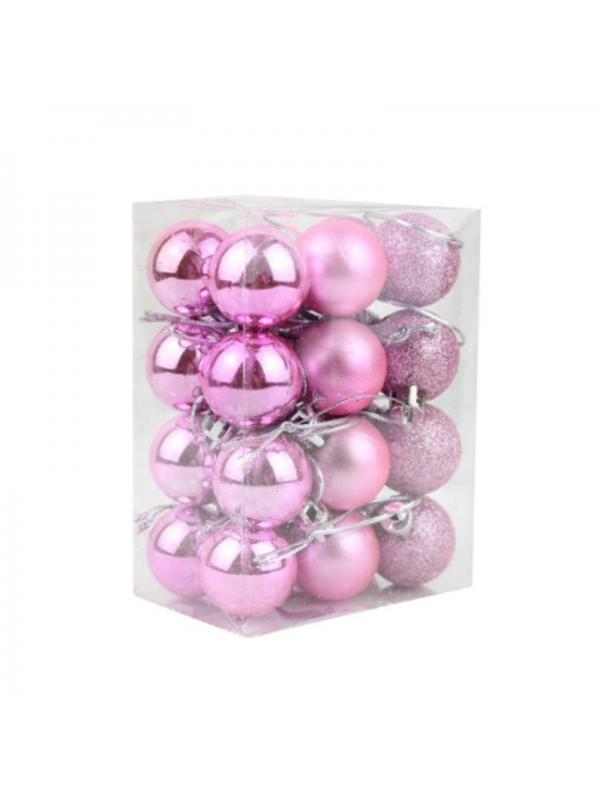Jusdreen 31pcs Christmas Balls Ornaments for Xmas Tree Shatterproof Christmas Tree Hanging Balls Decoration for Holiday Party Baubles Set with Hang Rope 1.97//2.75 Blue