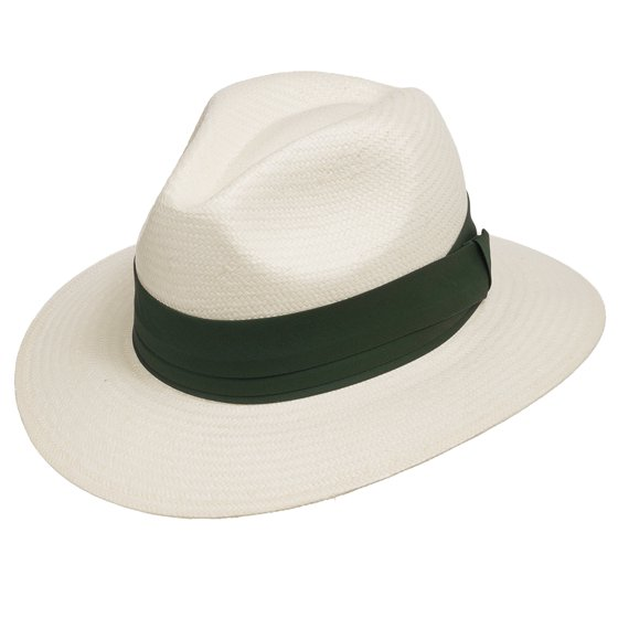 f3d30ab60f0 Ultrafino Monte Cristo Fedora Straw Panama Hat - Walmart.com