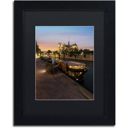 Notre Dame Framed Art - Trademark Fine Art