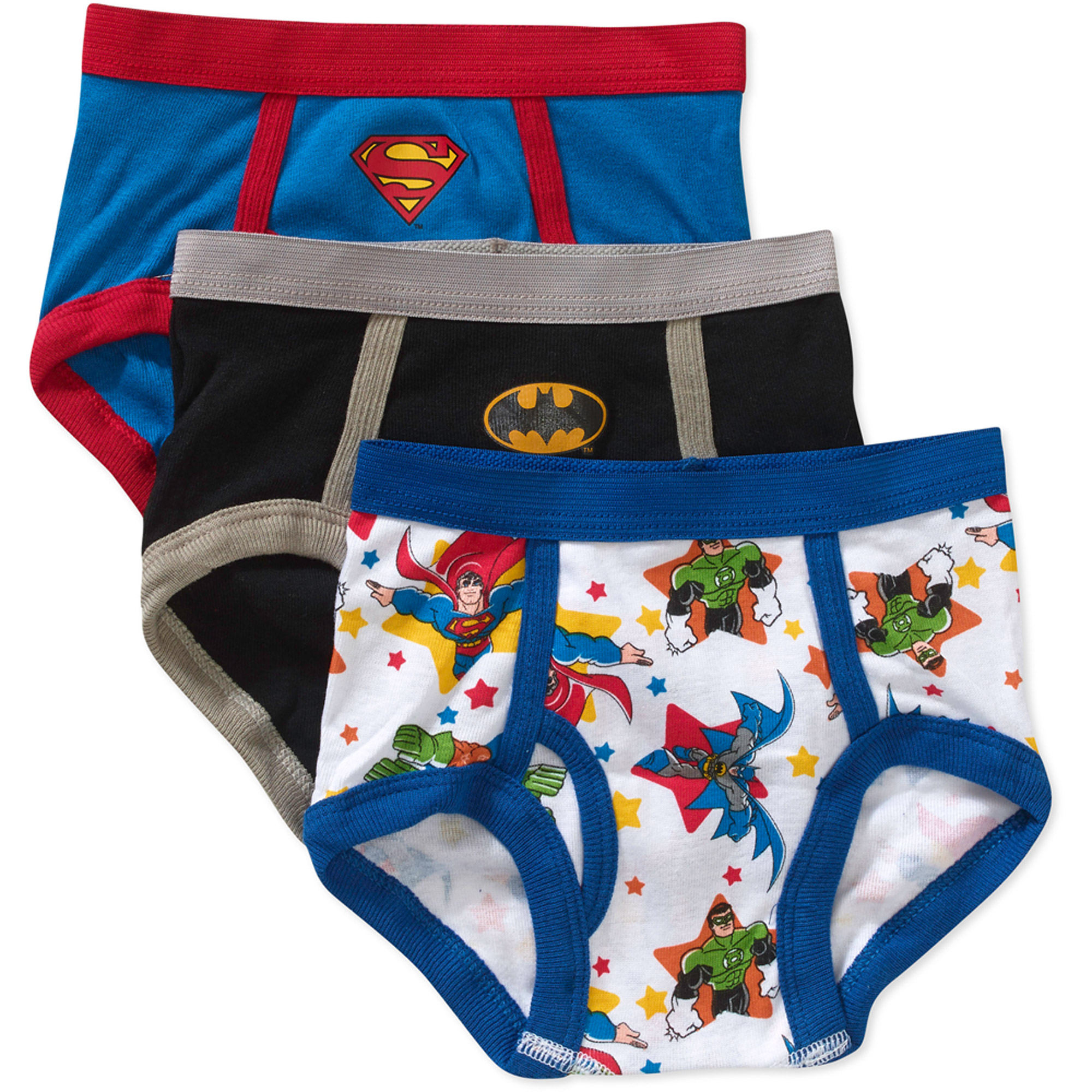 Superfriends Toddler Boys Underwear, 3 Pack
