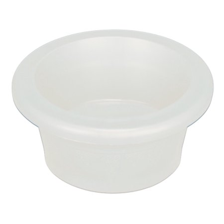 Petmate 23248 Plastic Crock Dog Bowl with Microban, Medium, Assorted -