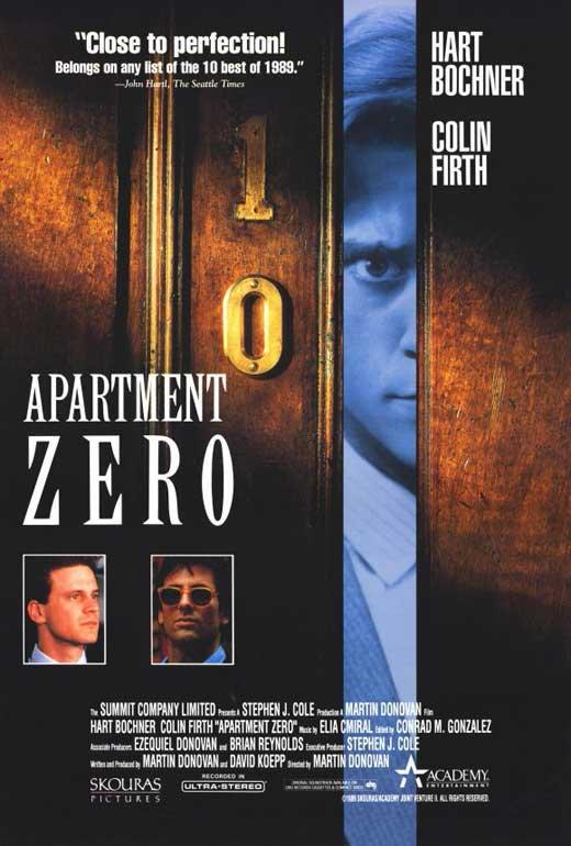 Apartment Zero POSTER Movie B (27x40)