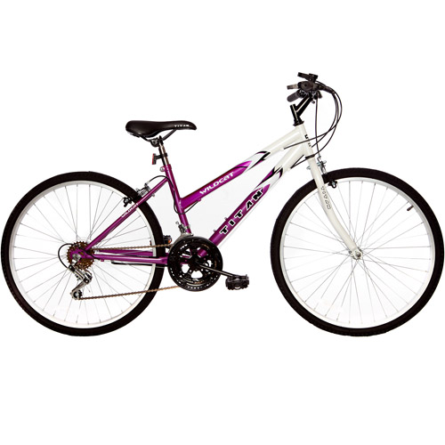 "26"" Titan Wildcat Women's Mountain Bike, Lavender & White"