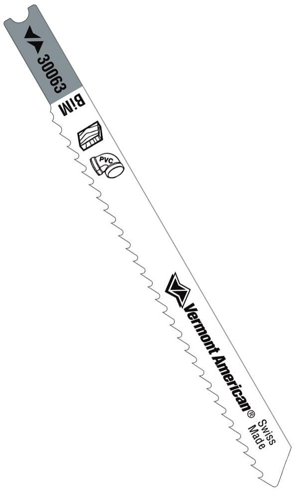 """Metal Plastic Jig Saw blades 2 PACK Vermont American 30063 3-5//8/"""" Wood"""