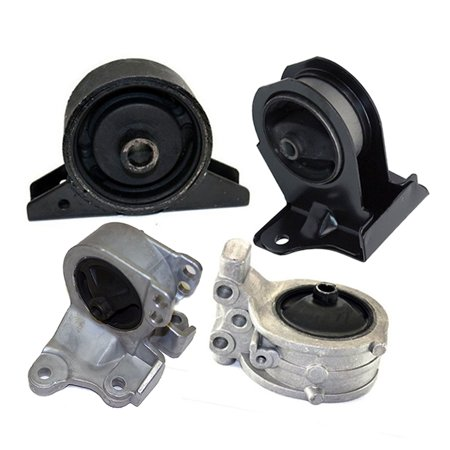 K2130 Fits 2001-2005 Chrysler Sebring 2.4L Coupe AUTO Motor & Trans Mount Set 4pc : A4603, A4602, A4621,