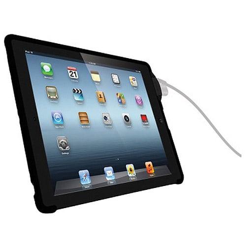 Kensington PK6912B SecureBack Security Case & Lock for New iPad & iPad 2 - Black