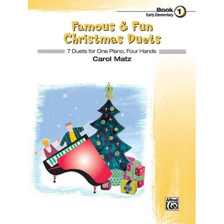 Famous & Fun Christmas Duets, Bk 1 : 7 Duets for One Piano, Four Hands ()
