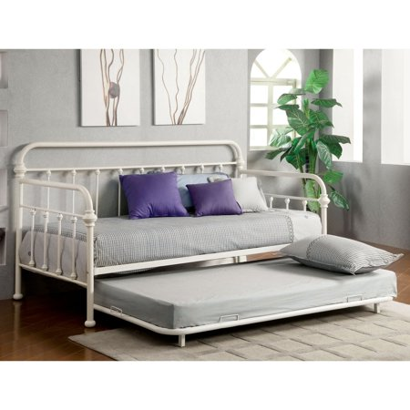 Furniture of america beaumont contemporary metal daybed for Q furniture beaumont