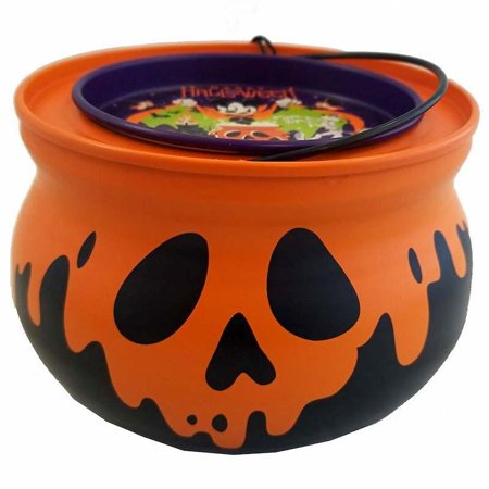 Disney Cocoa Mix Mickey And Pals Halloween Hot Chocolate Mix Cauldron New - Easy Halloween Mixed Drinks