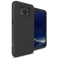 CoverON Samsung Galaxy S8 Active Case, HexaGuard Series Hard Phone Cover