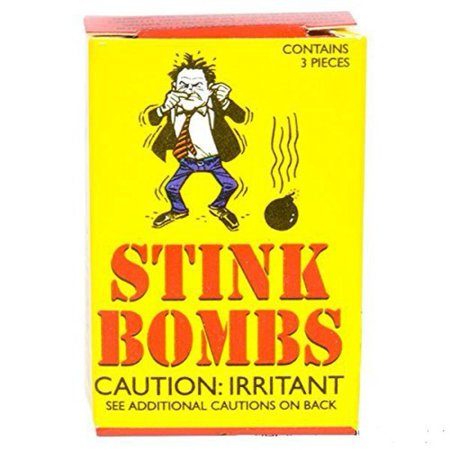 Stink Bombs Glass Vile Vials Novelty (Box of 36)Easy to Use By Rhode Island Novelty