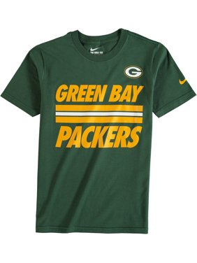 Product Image Green Bay Packers Nike Youth Team Stripe T-Shirt - Green 4526f43fb