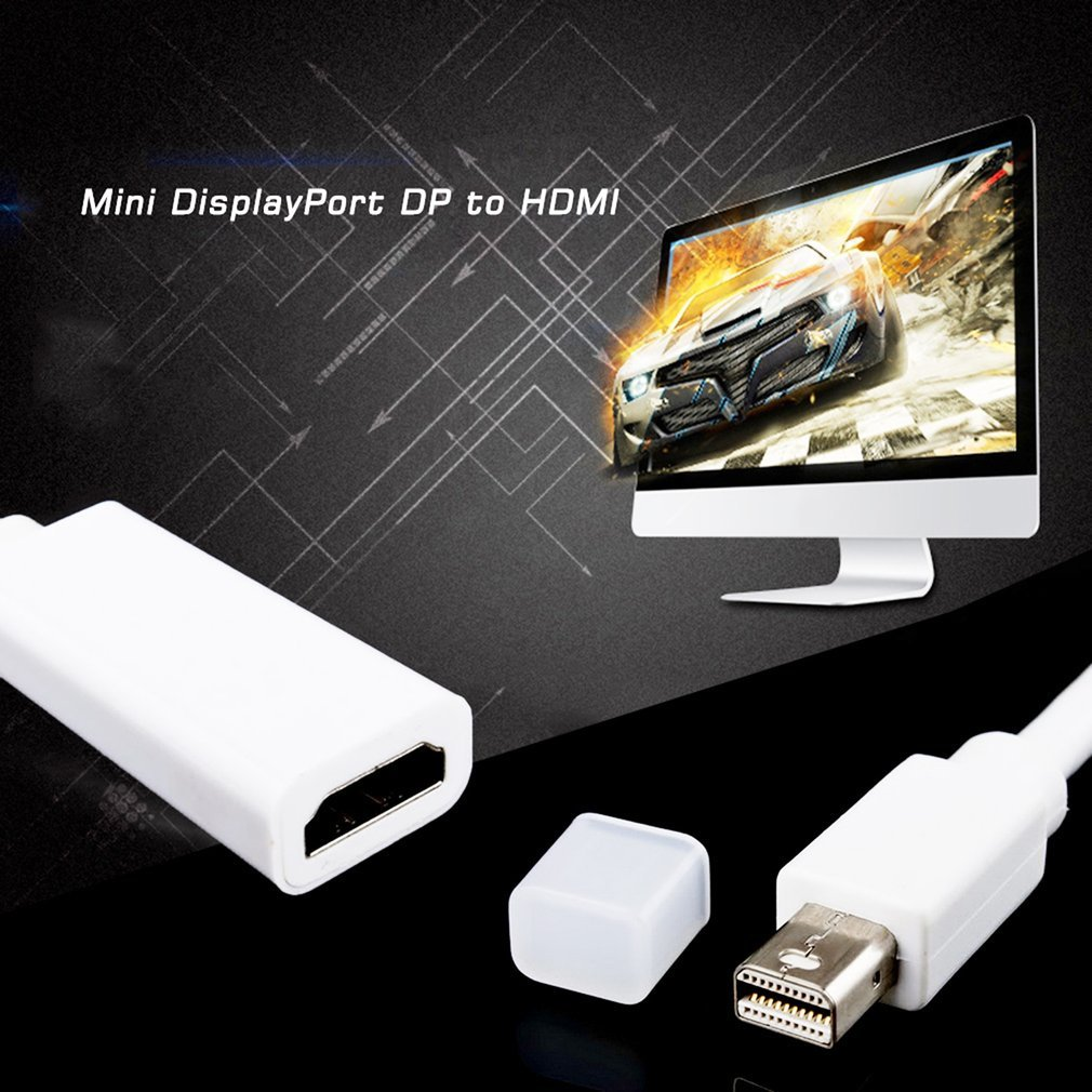 Mini DisplayPort DP to HDMI Adapter Short Cable Cord for MacBook Pro iMac Air