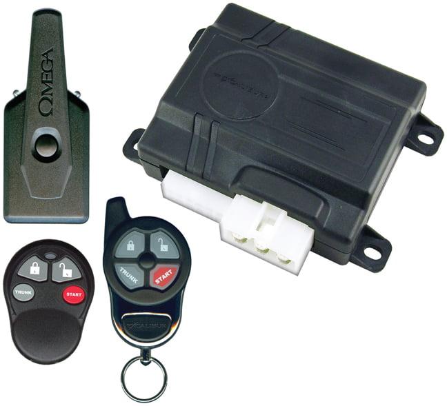 Omega RS351EDP Keyless Entry & Remote Start *purple Box*