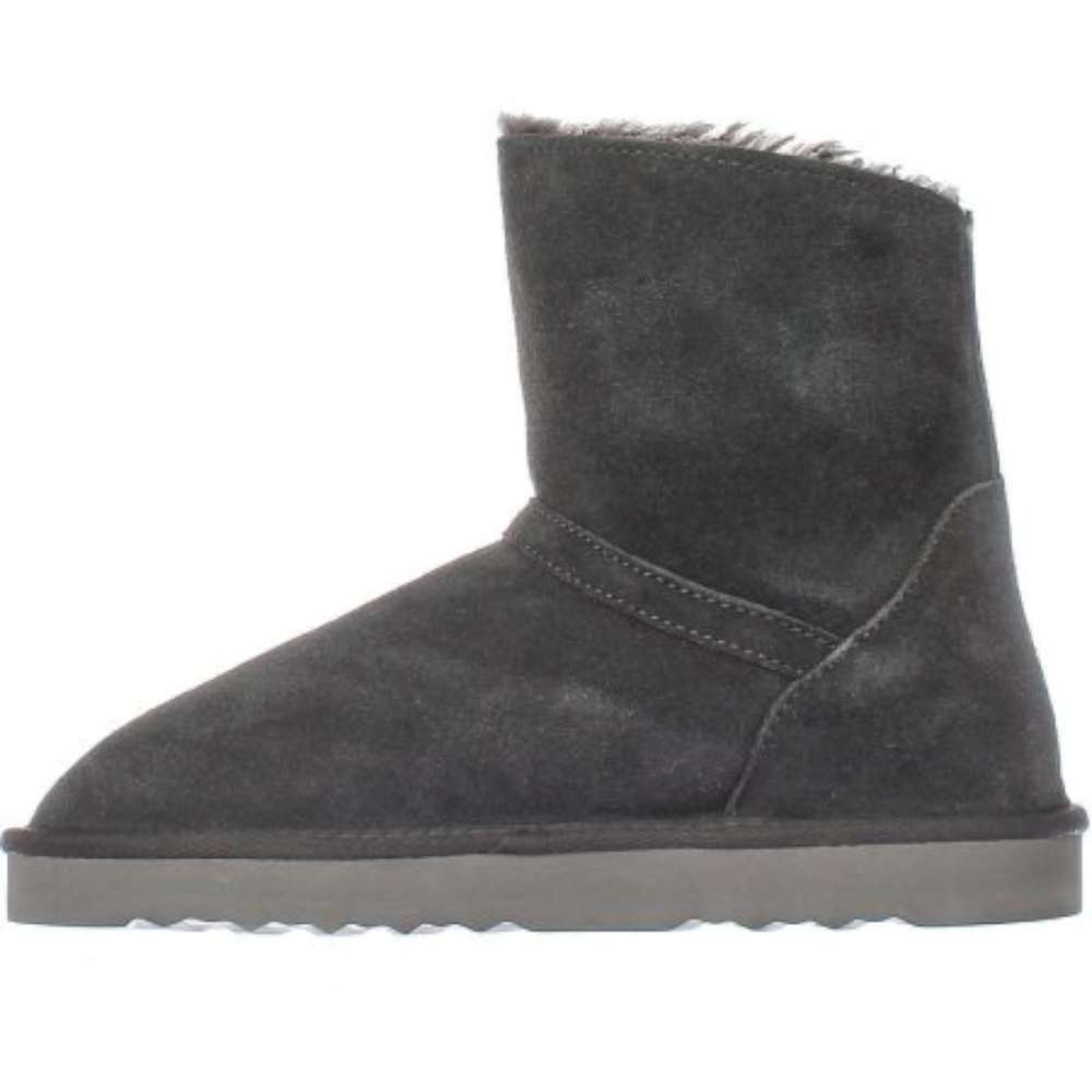 Womens Ciley Leather Closed Toe Ankle Cold Weather Boots