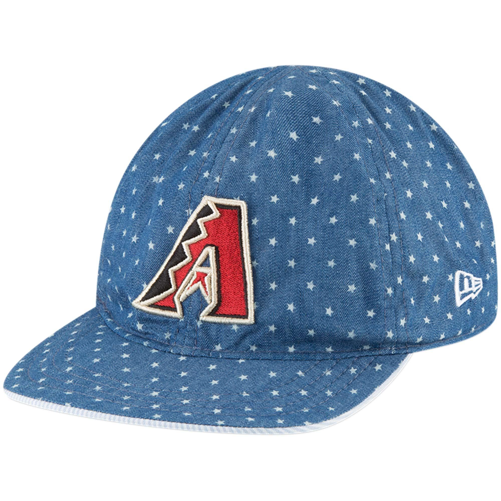 Arizona Diamondbacks New Era Infant Flip 9TWENTY Adjustable Hat - Denim/White - OSFA