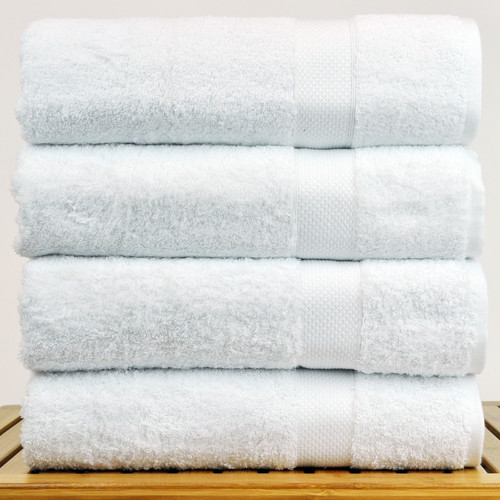 Bare Cotton Blossom Turkish Cotton Bath Towel (Set of 4)
