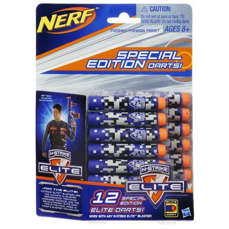 Nerf N Strike Elite 12 Special Edition Elite Darts Pack  Blue