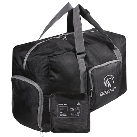 101a425c66ee REDCAMP 45L Foldable Travel Duffle Bag with Shoe Compartment, 22